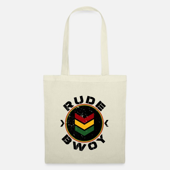 Rastafari Bags & Backpacks - Rude Bwoy - Tote Bag nature