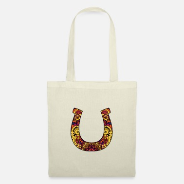 Lucky Charm Huffero, Horseshoe No: 024 - Tote Bag