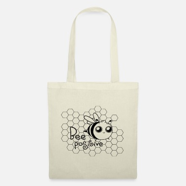 Bee honey honeycomb positive wings sweet nectar fly - Tote Bag