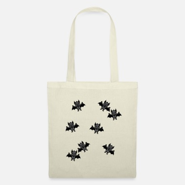 Carpathian Creepy Bats Bloodsucker Dracula Animals - Tote Bag