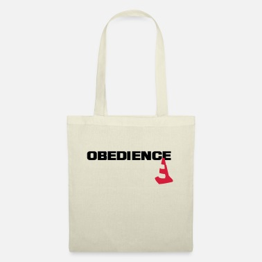 Obedience Obedience with pylons - Tote Bag