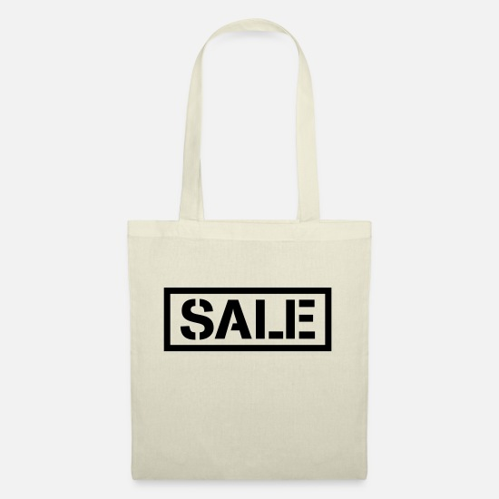Sold Bags & Backpacks - Sale percentage sale reduced price tag - Tote Bag nature