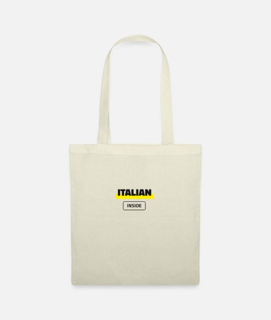 Proud Bags & Backpacks - Italian Inside - Tote Bag nature