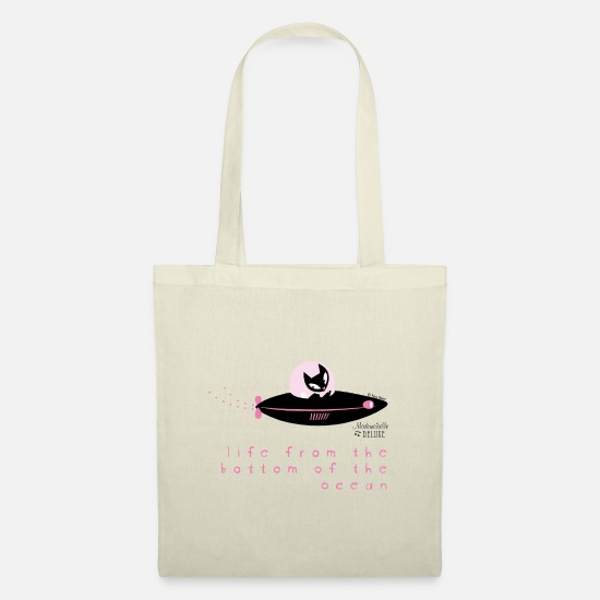 Cat Bags & Backpacks - Mademoiselle Deluxe Submarine Cat - Tote Bag nature