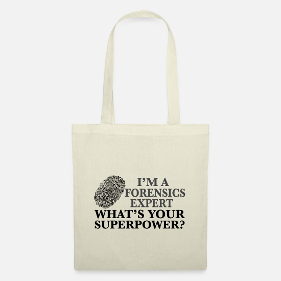 Whiz Bags & Backpacks - Super Forensics Expert - Tote Bag nature
