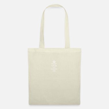 Sporty Keep calm and carry on - Tote Bag