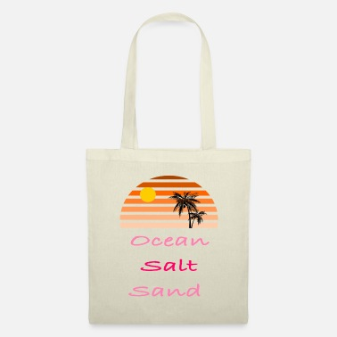 Sea Ocean Salt Sand - summer - Tote Bag