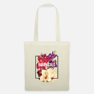 Floral collage composition - Tote Bag