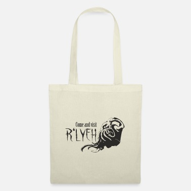 Rlyeh Come and visit R'lyeh - Cthulhu / Lovecraft - Tote Bag