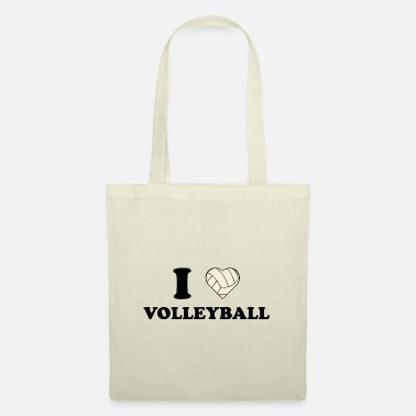 I Love Volleyball I love volleyball i love volleyball gift - Tote Bag