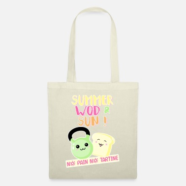Summer WOD and sun - Tote Bag