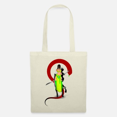 Blindfold blindfolded shadow warrior - Tote Bag