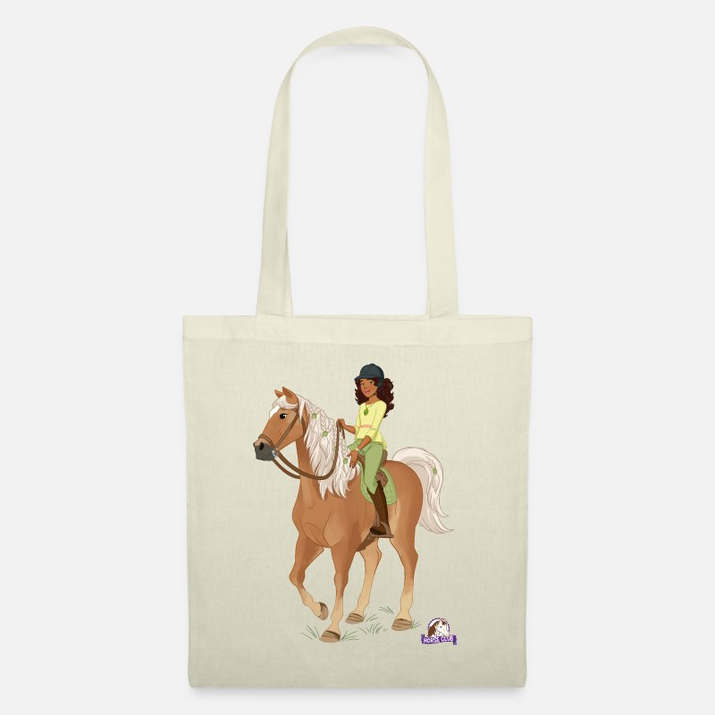 Club Bags & Backpacks - Schleich Horse Club Sarah & Mystery Pose - Tote Bag nature
