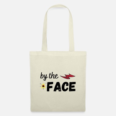 By the face - Tote Bag
