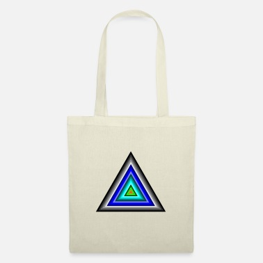 Triangle Triangles in triangle - Tote Bag