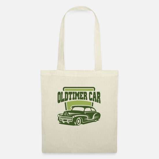 Retro Bags & Backpacks - Vintage car retro car - Tote Bag nature