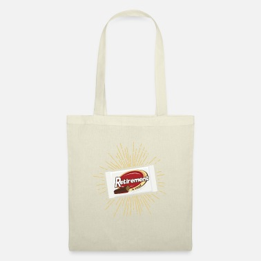 Retirement is sweet White chocolate bar poison - Tote Bag