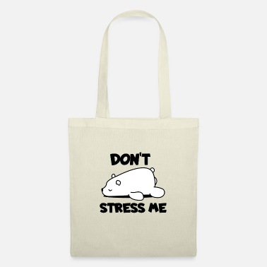 Blizzard chilled polar bear - Tote Bag