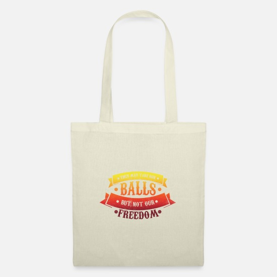 Floor Hockey Bags & Backpacks - Take my ball, but not freedom floorball Unihockey - Tote Bag nature