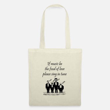 Humour Play On Shakespeare Music Quotes - Musician Humour - Tote Bag