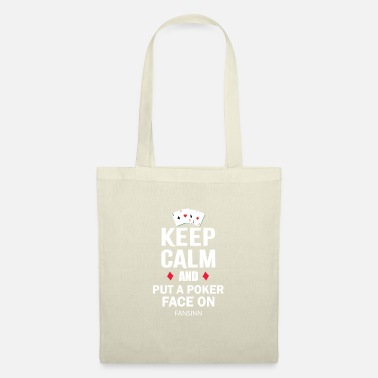 Playing Poker Pokerface Pot Game Lucky Casino Gift - Tote Bag