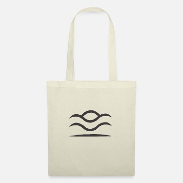 Over The Hill HILL AND WAVES - Tote Bag