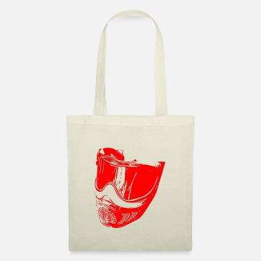 Bino92 Mask red - Tote Bag