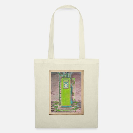 Radioactive Bags & Backpacks - Vintage gas station - Tote Bag nature