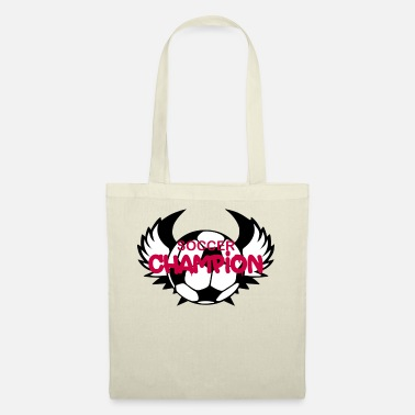 Soccer Champion soccer champion - football ball player champion go - Tote Bag