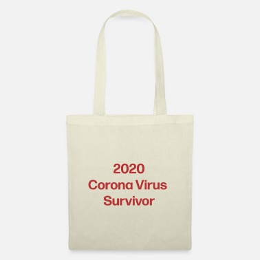 Corona Corona Virus, COVID-19 Survivor Collection - Borsa di stoffa