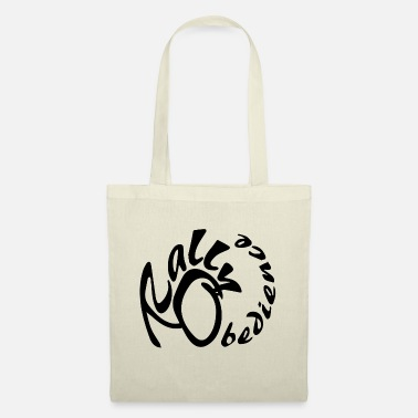 Rally obedience design for dog sport with dog - Tote Bag
