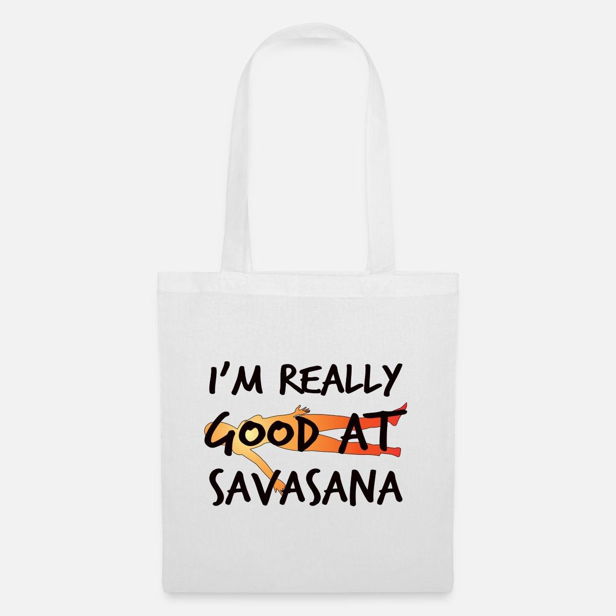 Savasana Yoga Karma Sport Yogi Namaste' Stoffbeutel   Spreadshirt