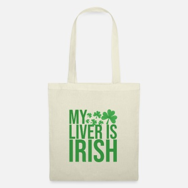 Mandapeno St Patricks day Liver - Tote Bag