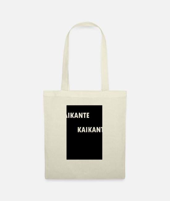 Office Bags & Backpacks - KAIKANTE shirt 13 - Tote Bag nature