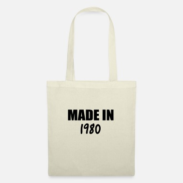 MADE IN 1980 - Tote Bag