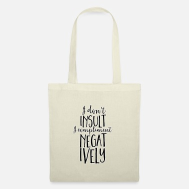 Insult Insult - Tote Bag