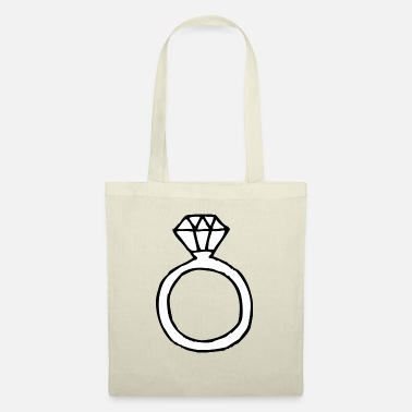 Ring Ring | Finger ring | Diamond ring - Tote Bag