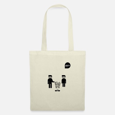 Obey Distance shopping cart - Tote Bag