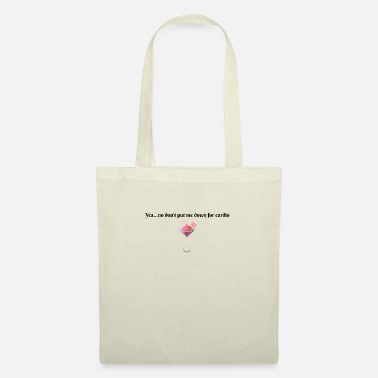 Cardio No Cardio - Tote Bag