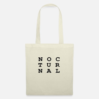 Nocturnal Nocturnal.. - Tote Bag