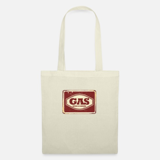 Diesel Bags & Backpacks - Gas station sign - Tote Bag nature