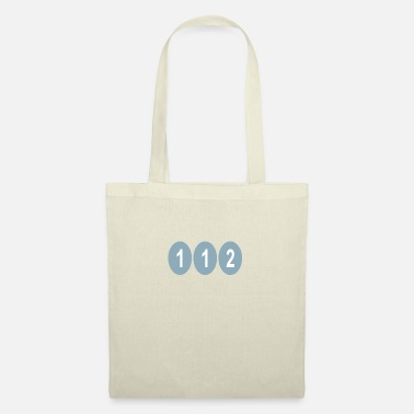 112 EMERGENCY FIREFIGHTER - Tote Bag