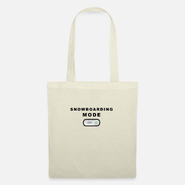 Mode Snowboard mode on mode on - Tote Bag