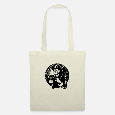Fighter fire fighter circle - Tote Bag