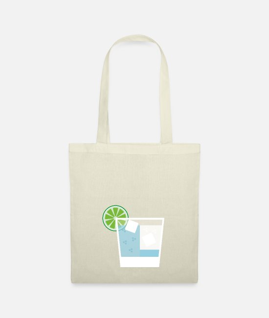 Alcohol Bags & Backpacks - Gin and Tonic - Tote Bag nature