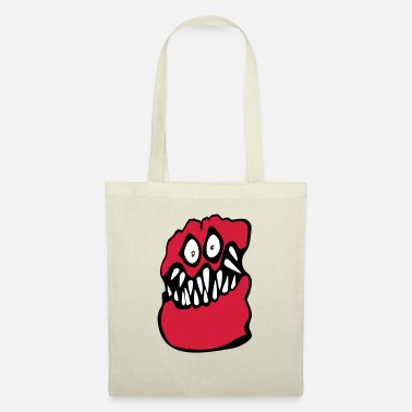 Chris Brown mostro graffiti chris brown - Borsa di stoffa