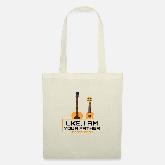 Ukulele Bags & Backpacks - Uke I'm Your Father Ukulele guitar humor funny - Tote Bag nature