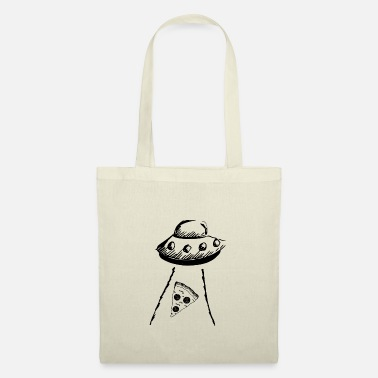 Declaration Of Love Pizza love aliens - Tote Bag