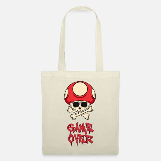 Game Over Bags & Backpacks - GAME OVER - Tote Bag nature