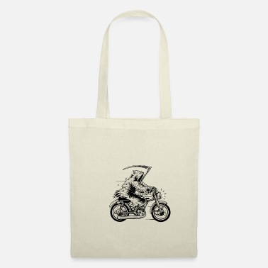 Grim Reaper biker godfather death motorcycle horror - Borsa di stoffa